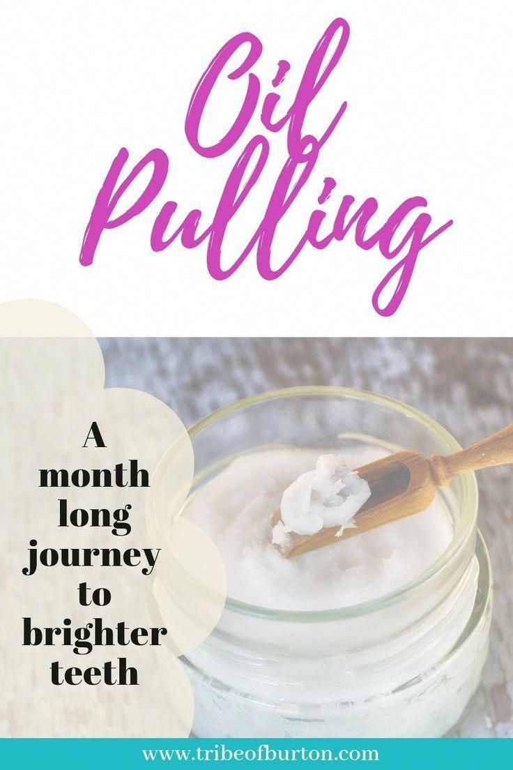 Read about my month long journey while I tried oil pulling.  #oilpulling #whiterteeth #HowIsOralCareDone