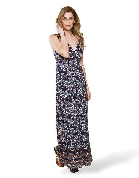 Monsoon Womens Alysia Printed Maxi Dress