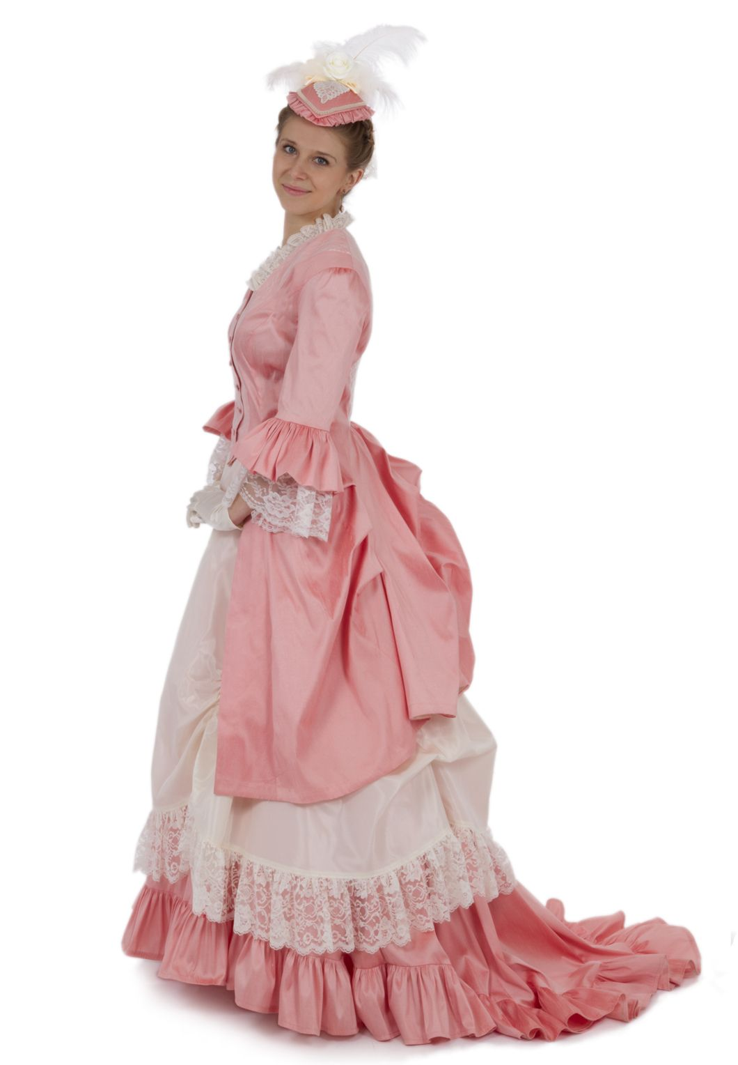 Perla Victorian Polonaise Bustle Dress By Recollections ...