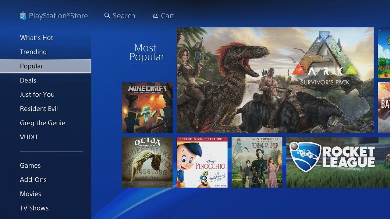 PLAYSTATION STORE PS4 WALKTHROUGH! (Games, Deals, Redeem