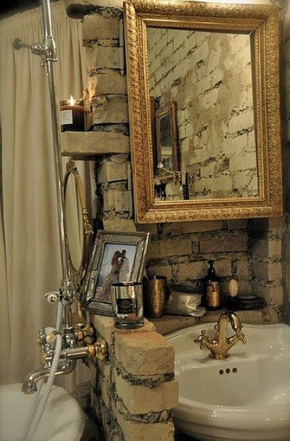 Love Milla's home and her Glam Rustic look... <3