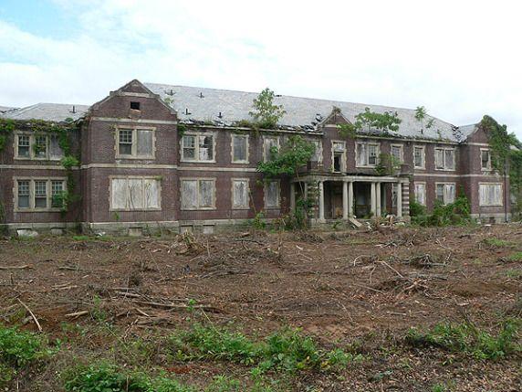 Byberry Mental Hospital, Philadelphia PA, housed mentally