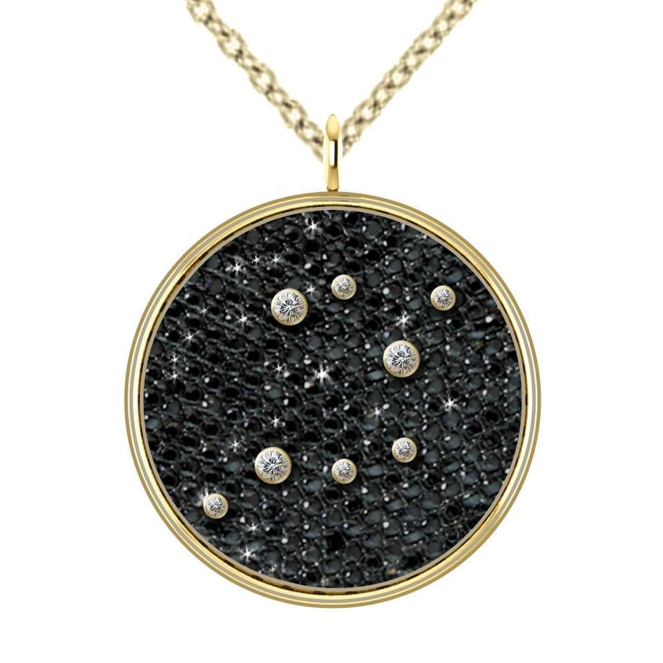 Hugo u haan gold diamond sagittarius zodiac constellation star