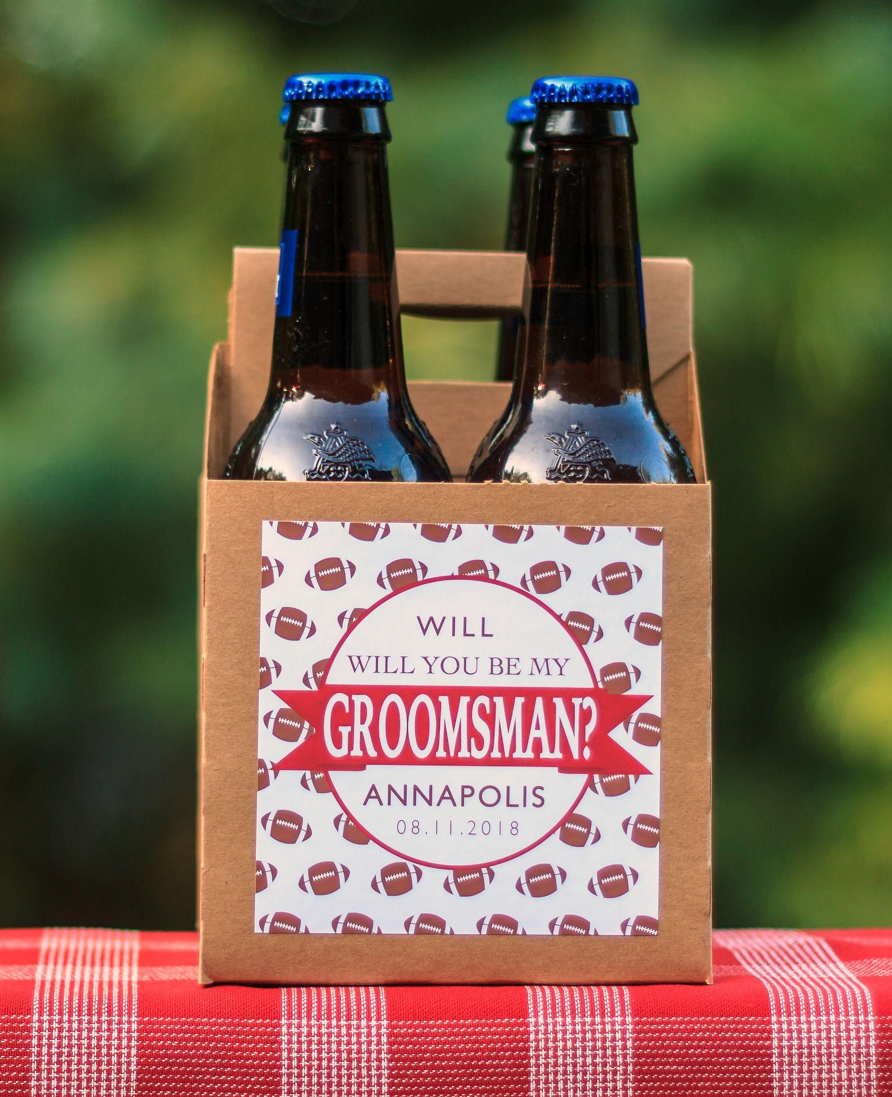 Wedding Announcement Ideas Asking Groomsman Groomsmen Proposal P1187 Personalized Groomsman Puzzle Will You Be My Groomsman