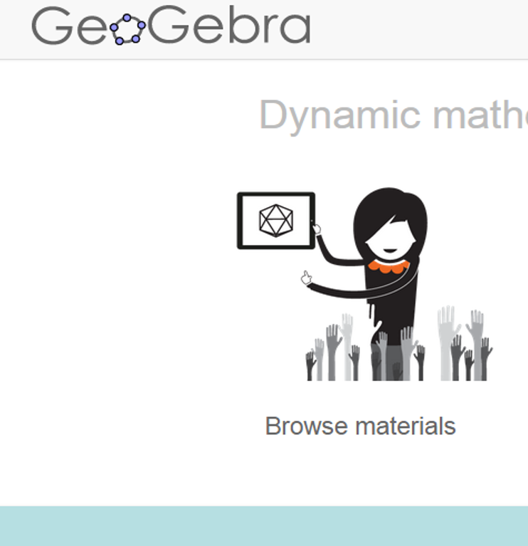 Geogebra Geogebra Is A Dynamic Mathematics Software That Brings Together Geometry Algebra Spreadsheets Graphing Statis Math Apps Free Math Free Math Apps