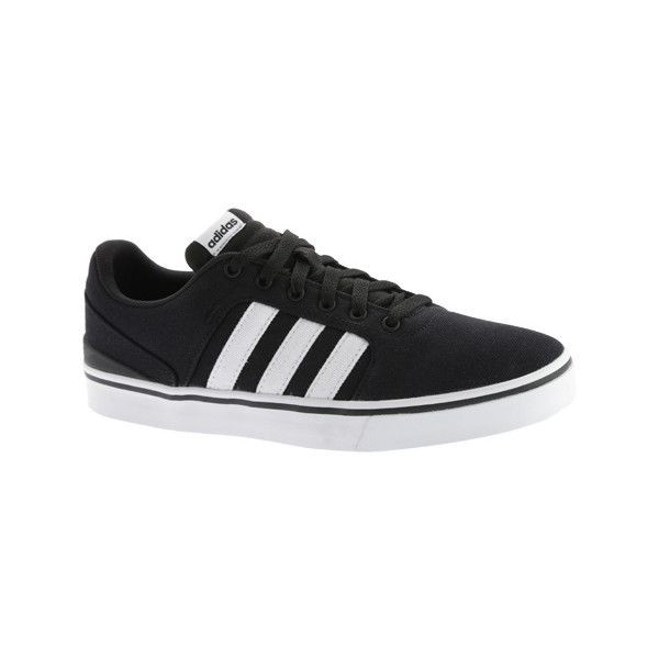 Men's adidas NEO Hawthorn ST Sneaker - Black/Black/White Casual ...