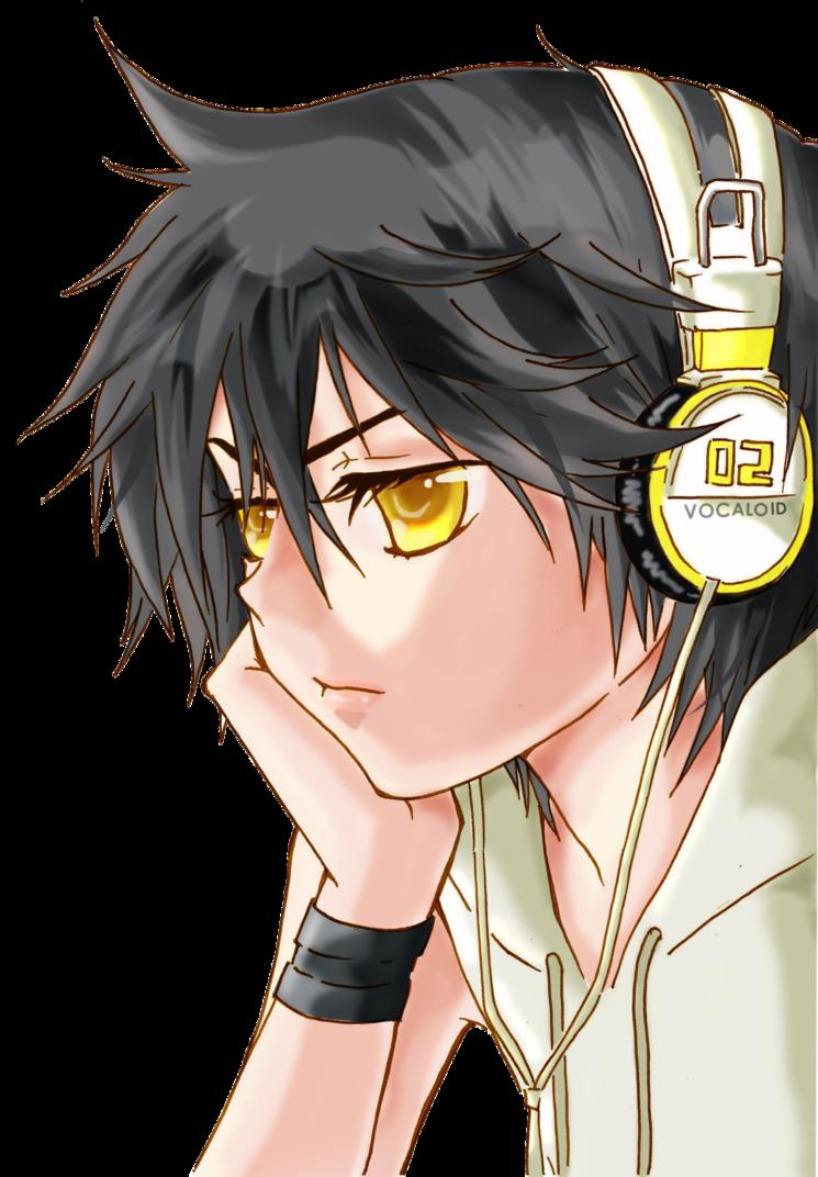 Anime Boy 1 (Render) by MinChanLee Anime, Kagamine rin