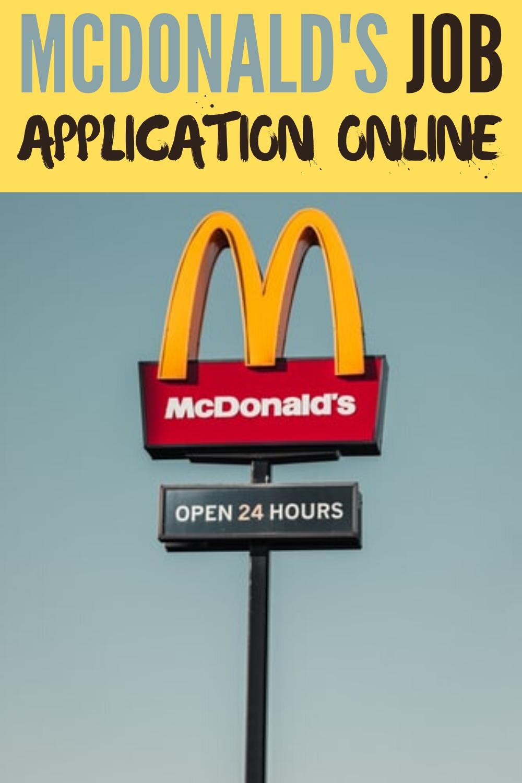 Mcdonalds Job Applications Online Mcdonaldsjob Applications Online Mcdonaldsjobs Target Onlineapplicat Free Mcdonalds Mcdonalds Application Job Application
