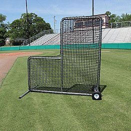 7x7 84 Premier L Net And Frame With Wheels With Images Cimarron Batting Cages Frame