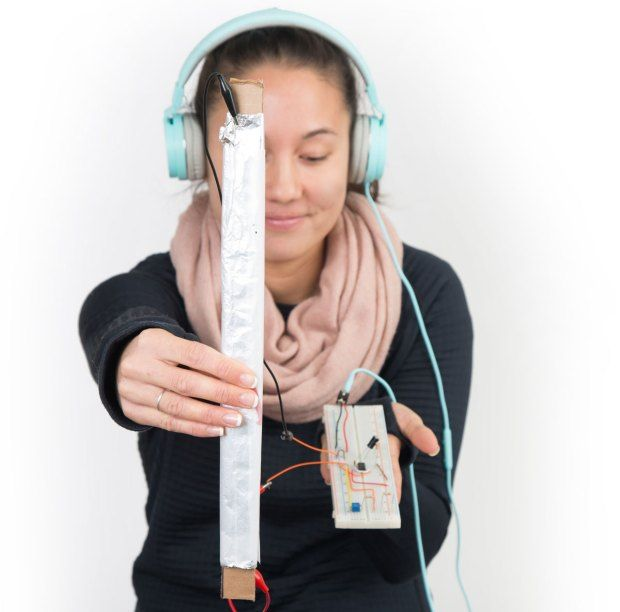 Create a Squeezable Musical Instrument with Tin Foil & Grocery Bags | Make: #musicalinstruments