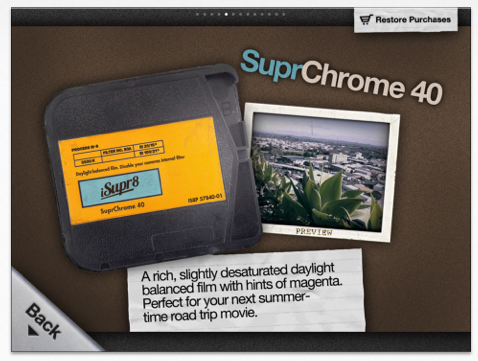 iSupr8 is temporarily free today, it if you want to try out a retro video recorder, don't miss this