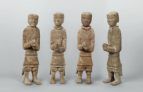 Four Infantrymen   China   Western Han dynasty (206 B.C.–A.D. 9)   The Met