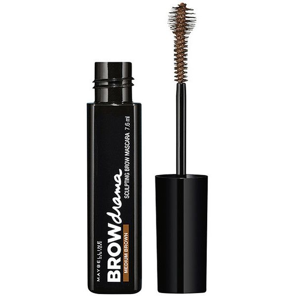 Maybelline Brow Drama Sculpting Brow Mascara in Medium Brown Target... (62 ARS) ❤ liked on Polyvore featuring beauty products, makeup, eye makeup, brown cosmetics, brown eye makeup, maybelline, maybelline eye makeup and eyebrow makeup