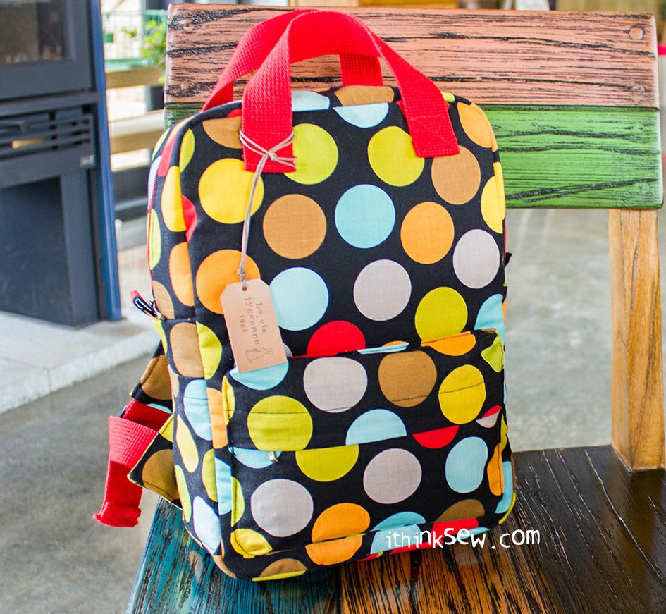 Vicky Baby Backpack PDF Pattern - ithinksew.com | Patterns ...