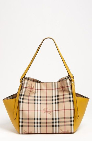 22f2212c23be Burberry  Haymarket Check Canterbury - Small  Tote available at  Nordstrom