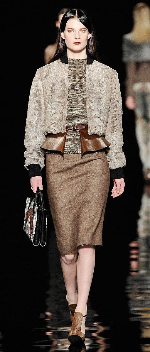 Moda / inverno 2012-13 outono das mulheres.