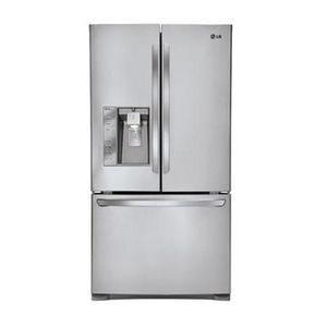 Lg 30 7 Cu Ft French Door Refrigerator Stainless Steel Model