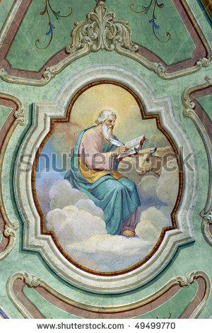 stock photo : Saint Luke the Evangelist