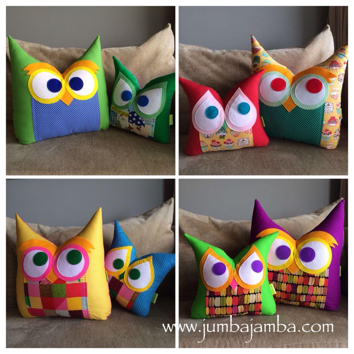 JumbaJamba Animal Pillows - www.jumbajamba.com