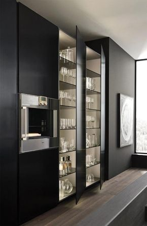 Design di cucine bagni e soggiorni moderni modulnova progetto 01 foto 1