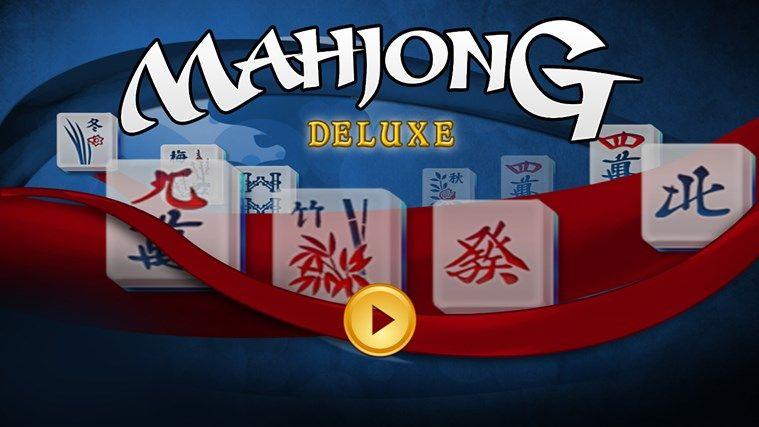 Mahjong Deluxe Free screen shot 0 Mahjong, Solitaire
