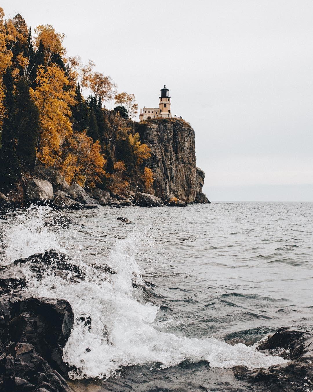 Landscape Lighting Mn: Inspo From Our Friends! Split Rock Lighthouse In Silver