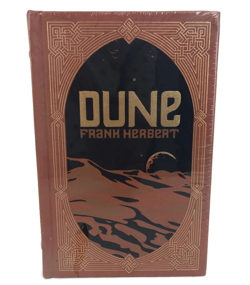 Dune frank herbert leather bound deluxe collectible gift