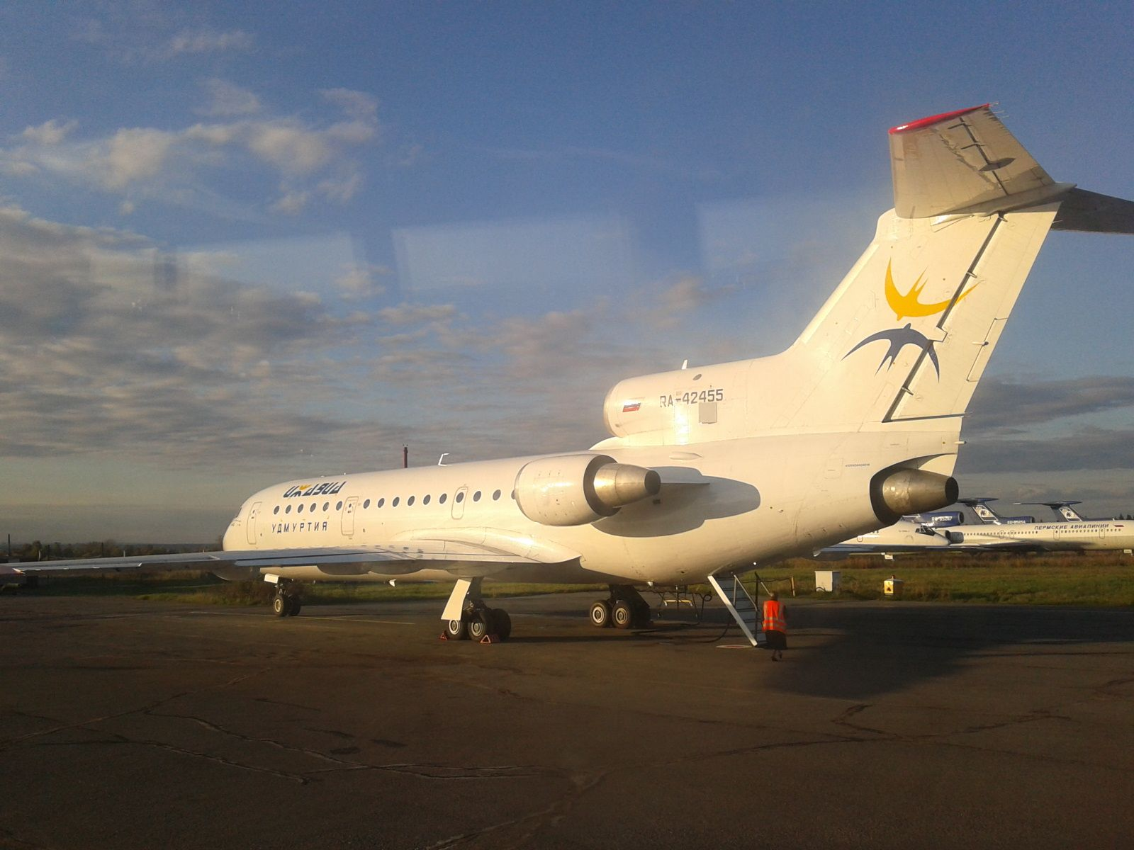 Самолет Як-42 авиакомпании Ижавиа | Passenger jet ...