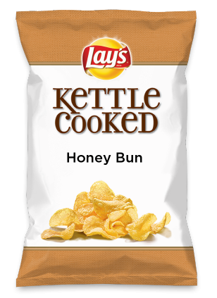 Wouldn't Honey Bun be yummy as a chip? Lay's Do Us A Flavor is back, and the search is on for the yummiest flavor idea. Create a flavor, choose a chip and you could win $1 million! https://www.dousaflavor.com See Rules.