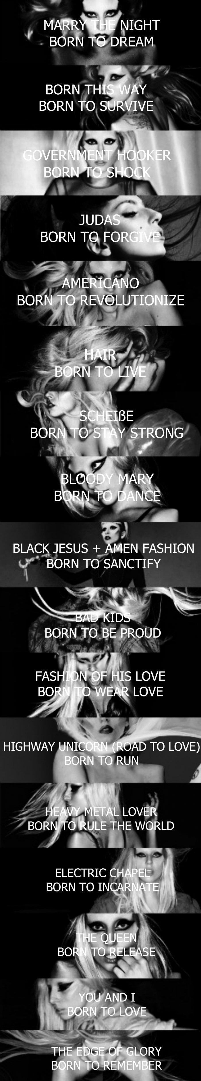 Black Jesus Quotes Born To Be Lady Gaga  Pinterest  Lady Gaga