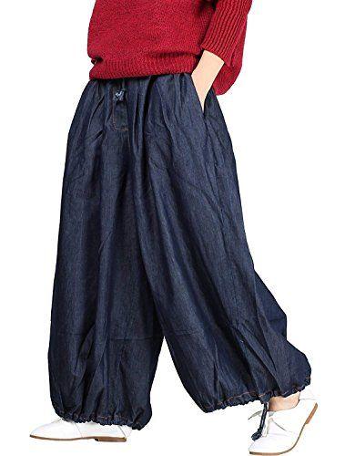 huge discount a6f3e 9dd49 Jeans Donna Moda Tempo Libero Pantaloni Primaverile Estivi ...