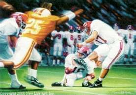 I was there!  The Tennessee fan laughed when I said we would win the game!