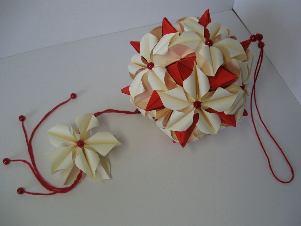 Lucky Spike Poinsettia Pinterest Origami