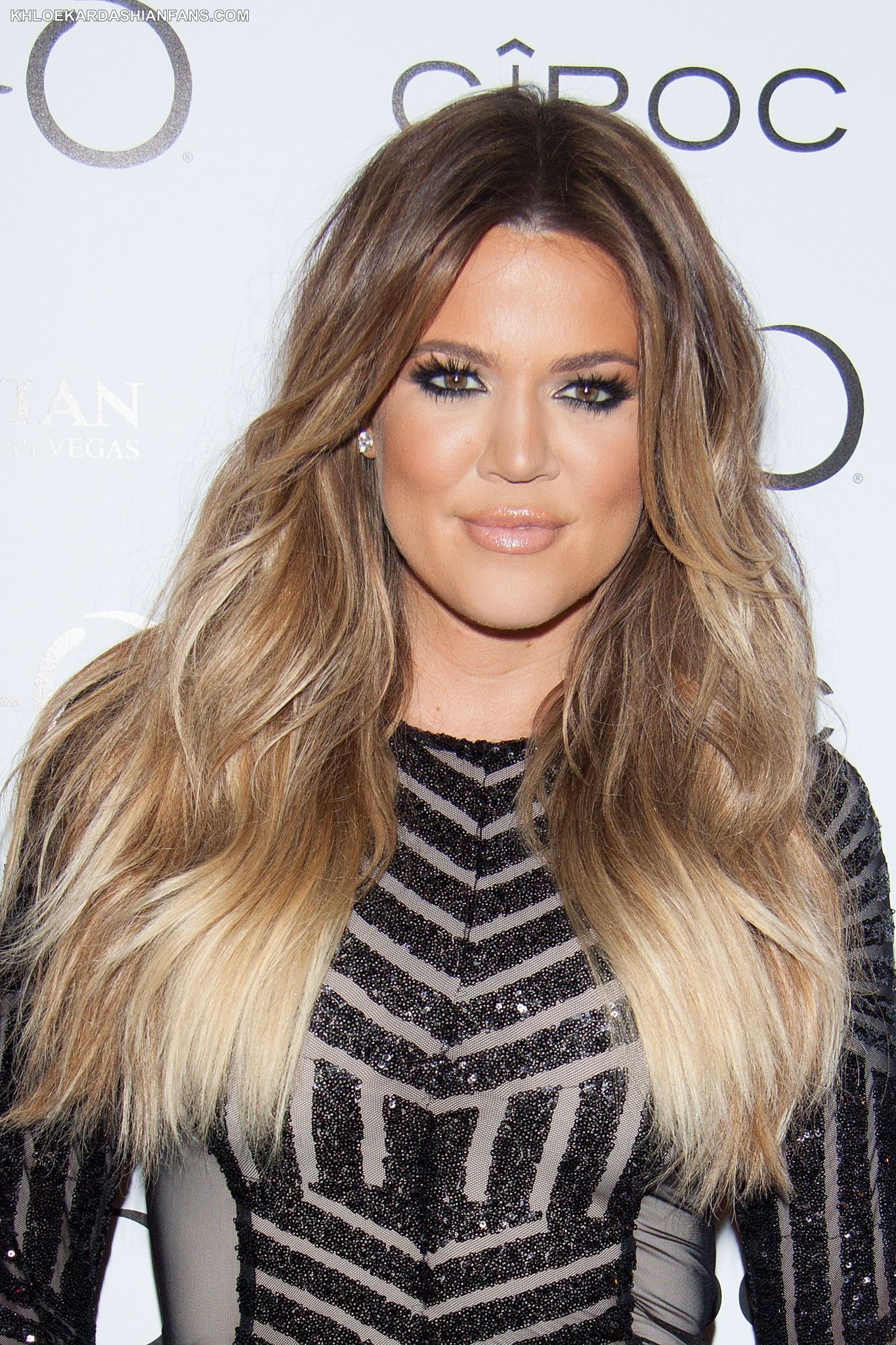 Khloe Kardashian Ombre Hair 30th Birthday At Tao Las Vegas Ombre