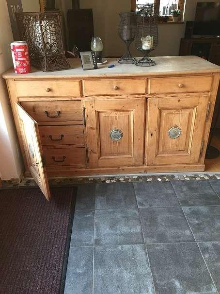 bauernm bel alte kommode fichte vollholz restauriert angebote g nstig kaufen. Black Bedroom Furniture Sets. Home Design Ideas