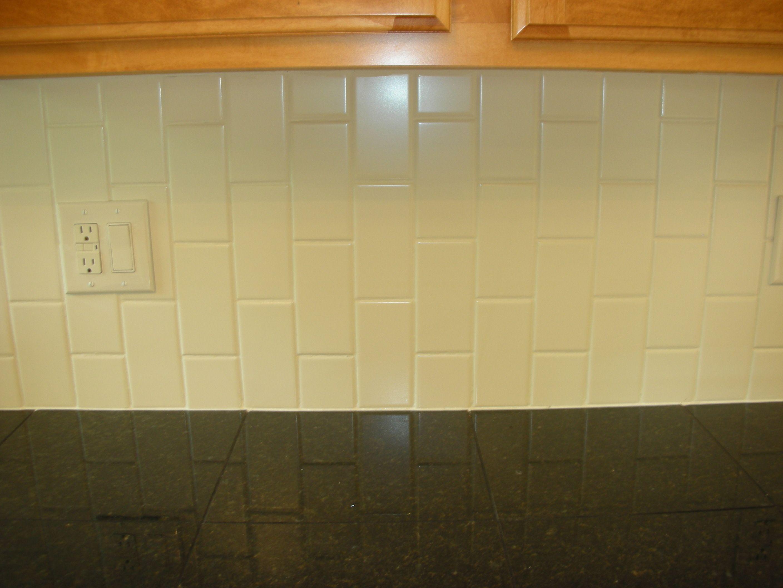 Vertical Subway Tile Kitchen