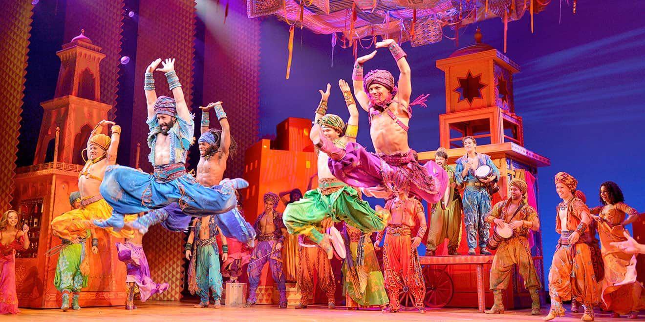 Top 5 Best Disney Broadway Hits Aladdin Broadway Aladdin Musical Aladdin