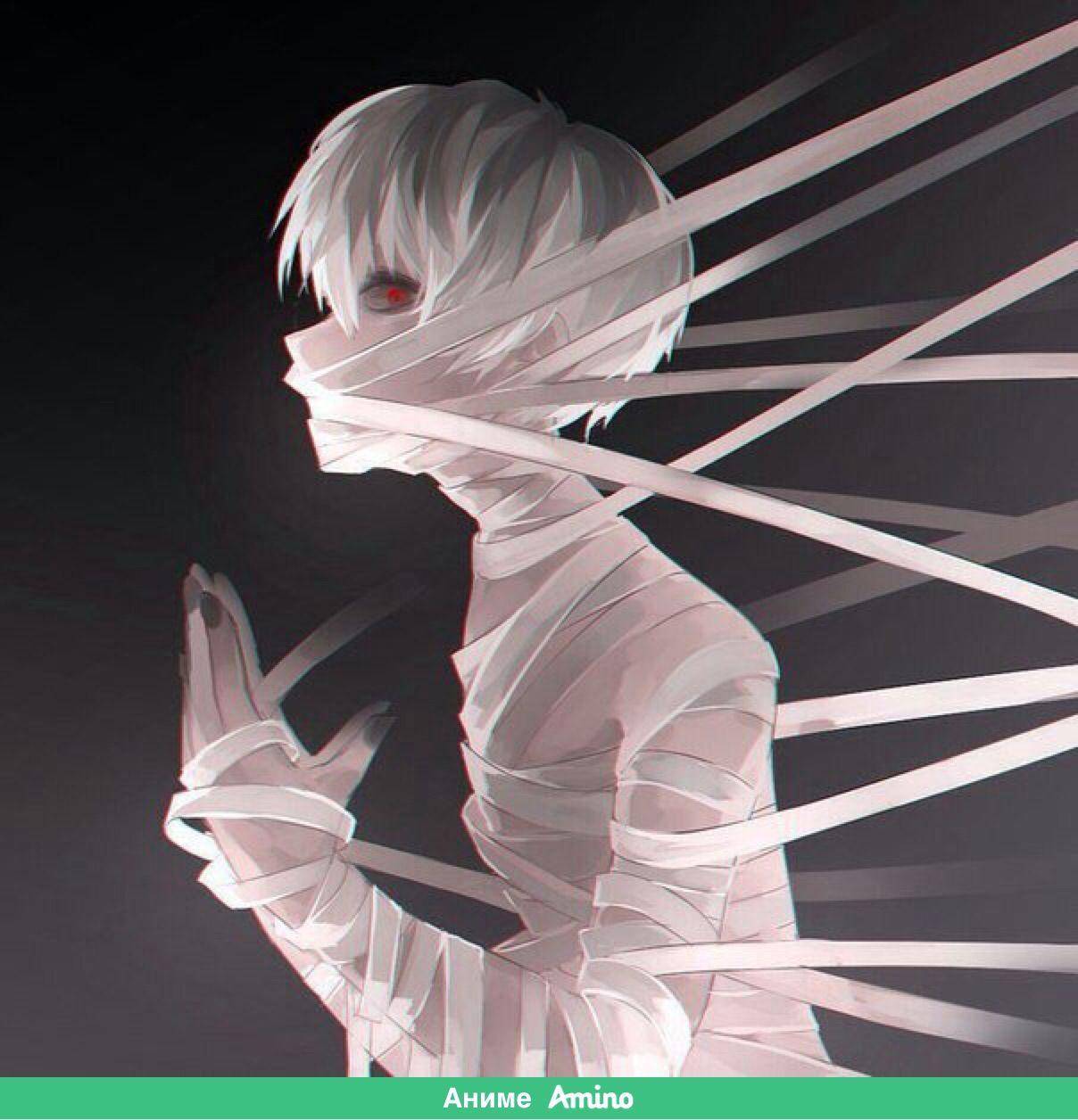Спокойной ночи (с изображениями) | Аниме, Темное аниме, Гул