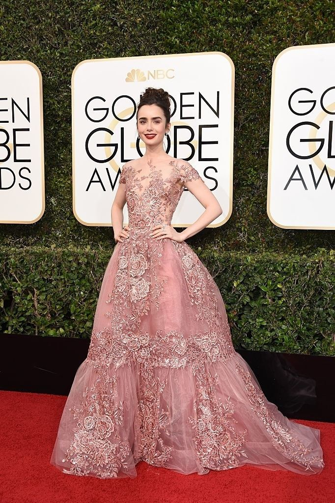 Estos son todos los looks de los Globos de Oro 2017 | Rojo, Vestidos ...