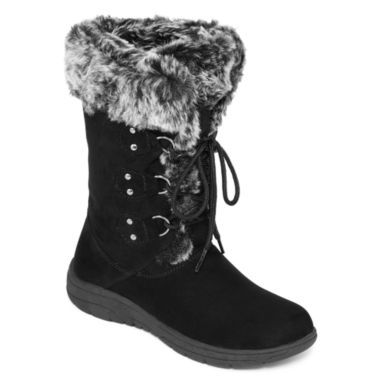 7dae76e666bc3 St. John s Bay® Chase Lace-Up Boots found at  JCPenney
