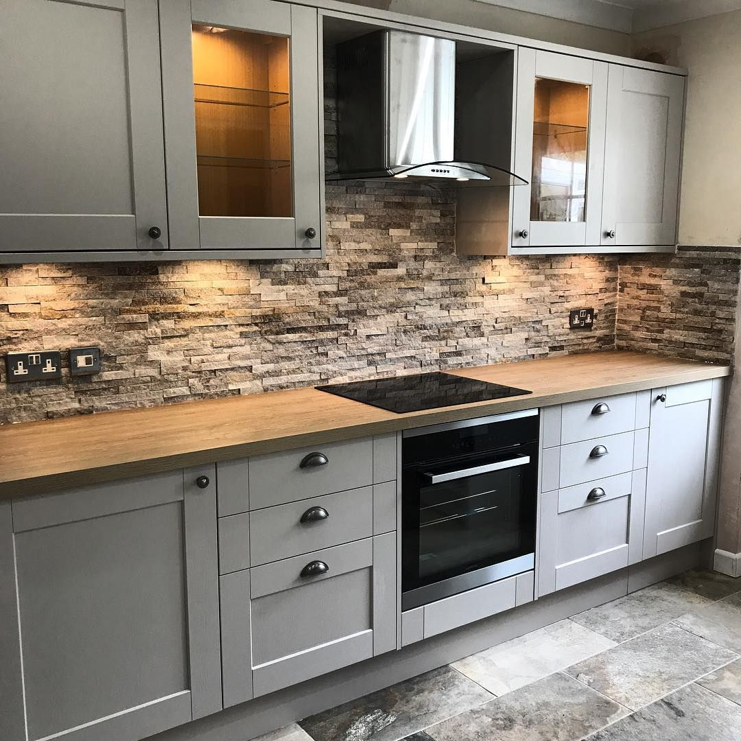 Howdens in 2020 Howdens kitchens, Grey kitchen