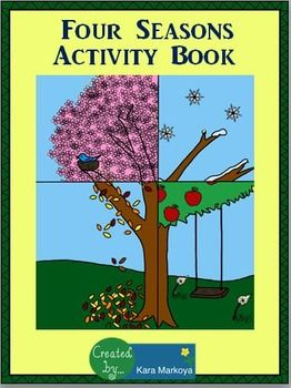four seasons activity booklet k 2nd grade teaching ideas seasons activities four seasons. Black Bedroom Furniture Sets. Home Design Ideas