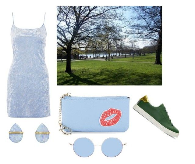 """""""Hyde Park"""" by giulia-ostara-re ❤ liked on Polyvore featuring Nobody's Child, Saks Fifth Avenue, Melissa Joy Manning and Fendi"""