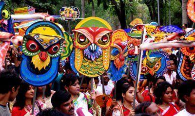 Make some colorful masks..