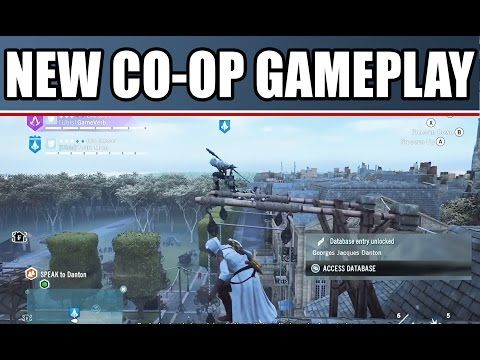 Assassin S Creed Unity Multiplayer Coop Gameplay Part 3 With Funny