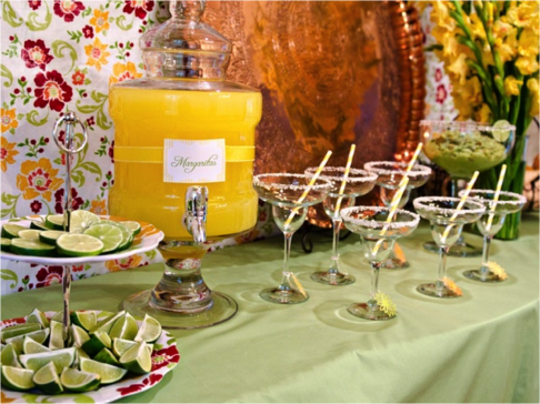 Margarita bar.. cute idea for wedding showers and receptions