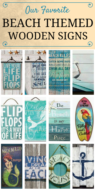 Photo of 100+ Wooden Beach Signs & Wooden Coastal Signs – Beachfront …