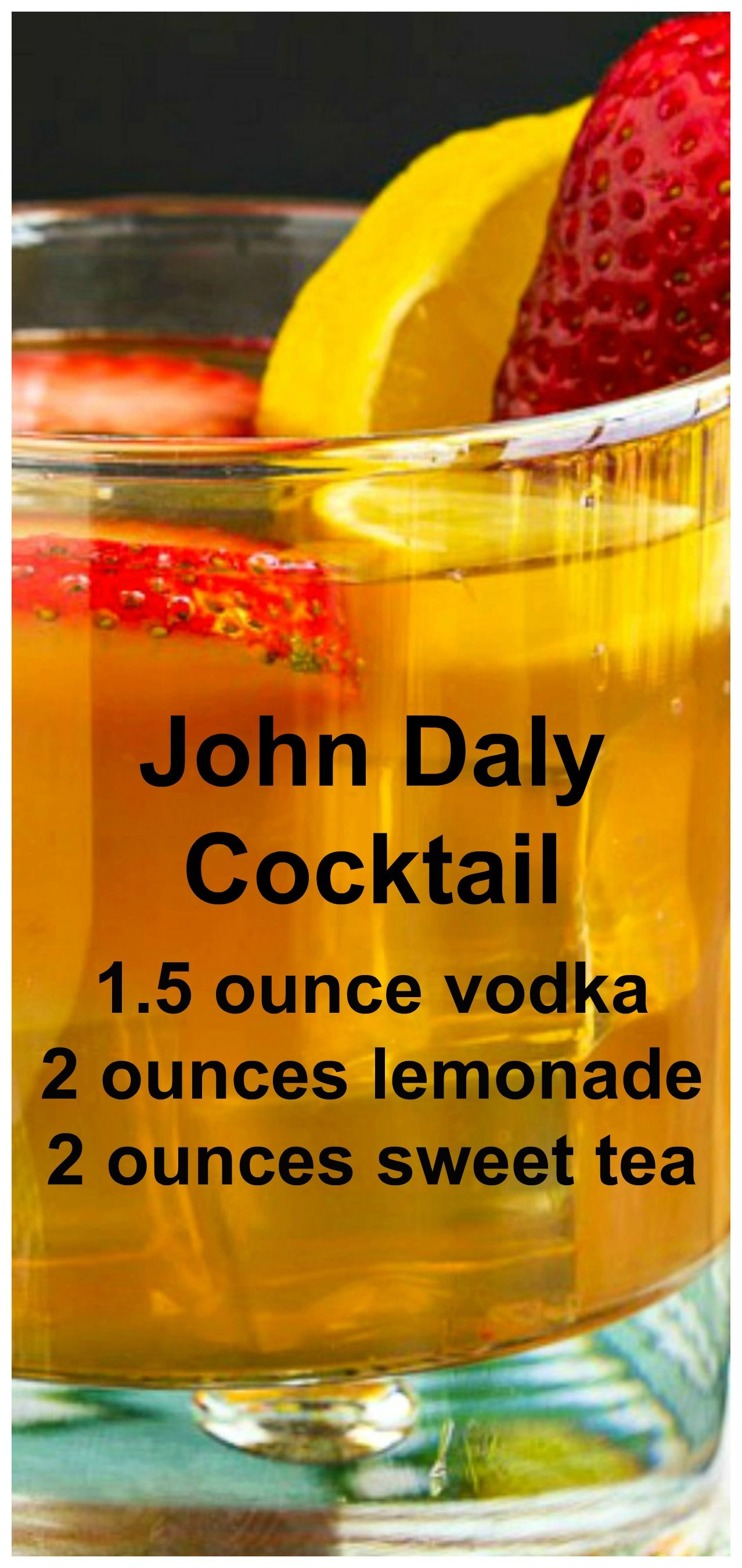 John Daly Cocktail #summeralcoholicdrinks