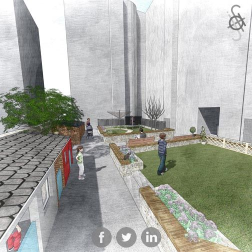 #baffinstreet #architecture #landscape #landscaping #ladscapearchitecture #designer #redevelopment #thebackies #green #communityspace #ajfitchet #ajfitchetarchitect #dundeearchitect #helpingyoutobuildyourdream