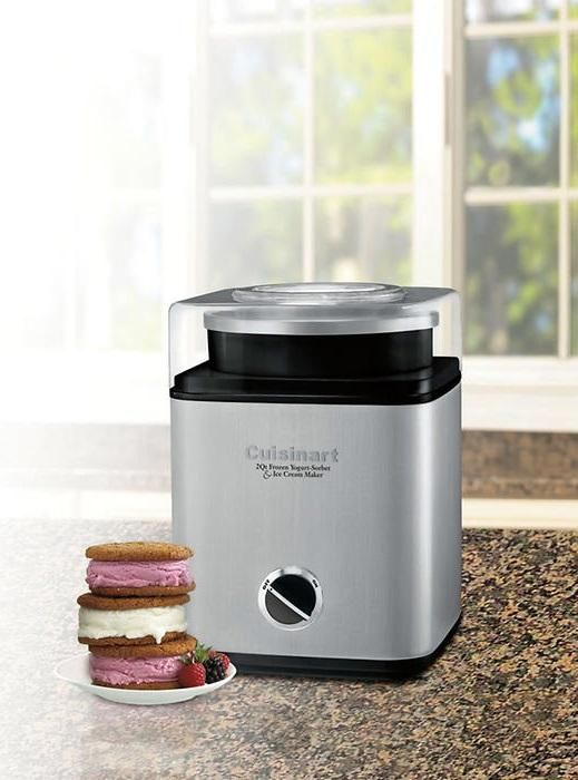 Cool Off With A Rich Ice Cream Sundae Or A Fruity Homemade Sorbet Ready In 25 Minutes Or Less The Cuisinart Pure Indulgence 2 Quart Ice Cream Frozen Yogurt